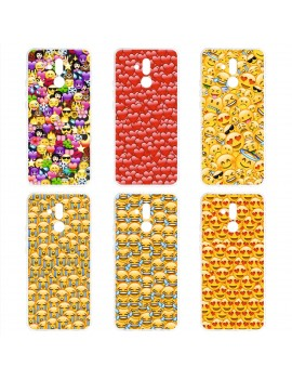 Custodia cover foderino TPU GEL silicone morbida per Cellulari Huawei 1 FA2