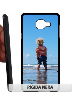 Cover per Samsung Galaxy core 2 g355 g3559 RIGIDA nera