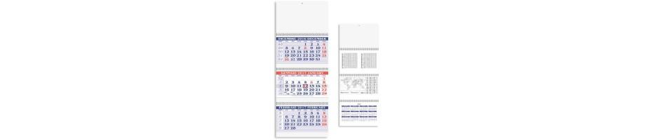 Calendari Trittici Personalizzati con Logo - Gadget Aziendali Online