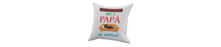 Cuscini dedicati al papà – Cuscino per il papà – Idee regalo papà