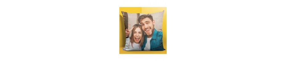 Crea online il tuo cuscino personalizzato con la tua foto o dedica